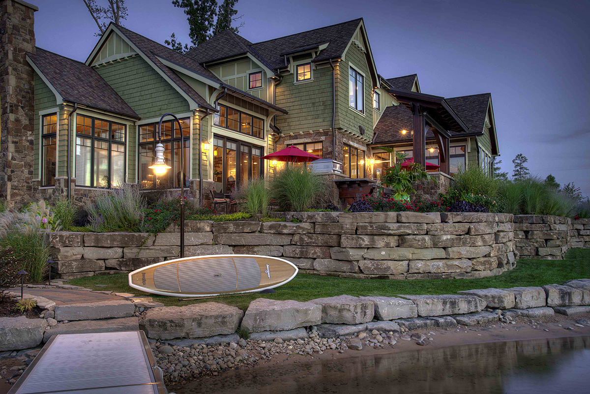 architectural landscape by Outdoor Living